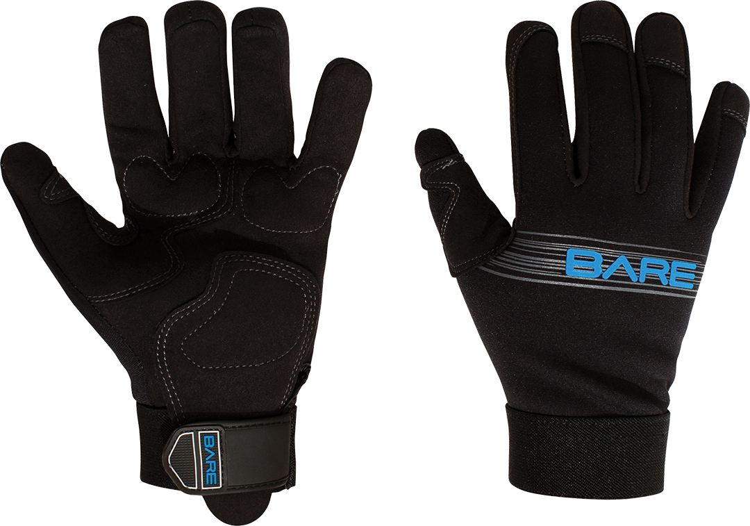 BARE Sports HANDSKER 2MM TROPIC BLK