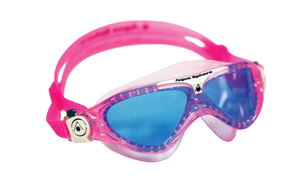 1728f2d286d AQUA SPHERE Vista Junior Triathlon Svømmebrille 4-14 år TONET HVID ...