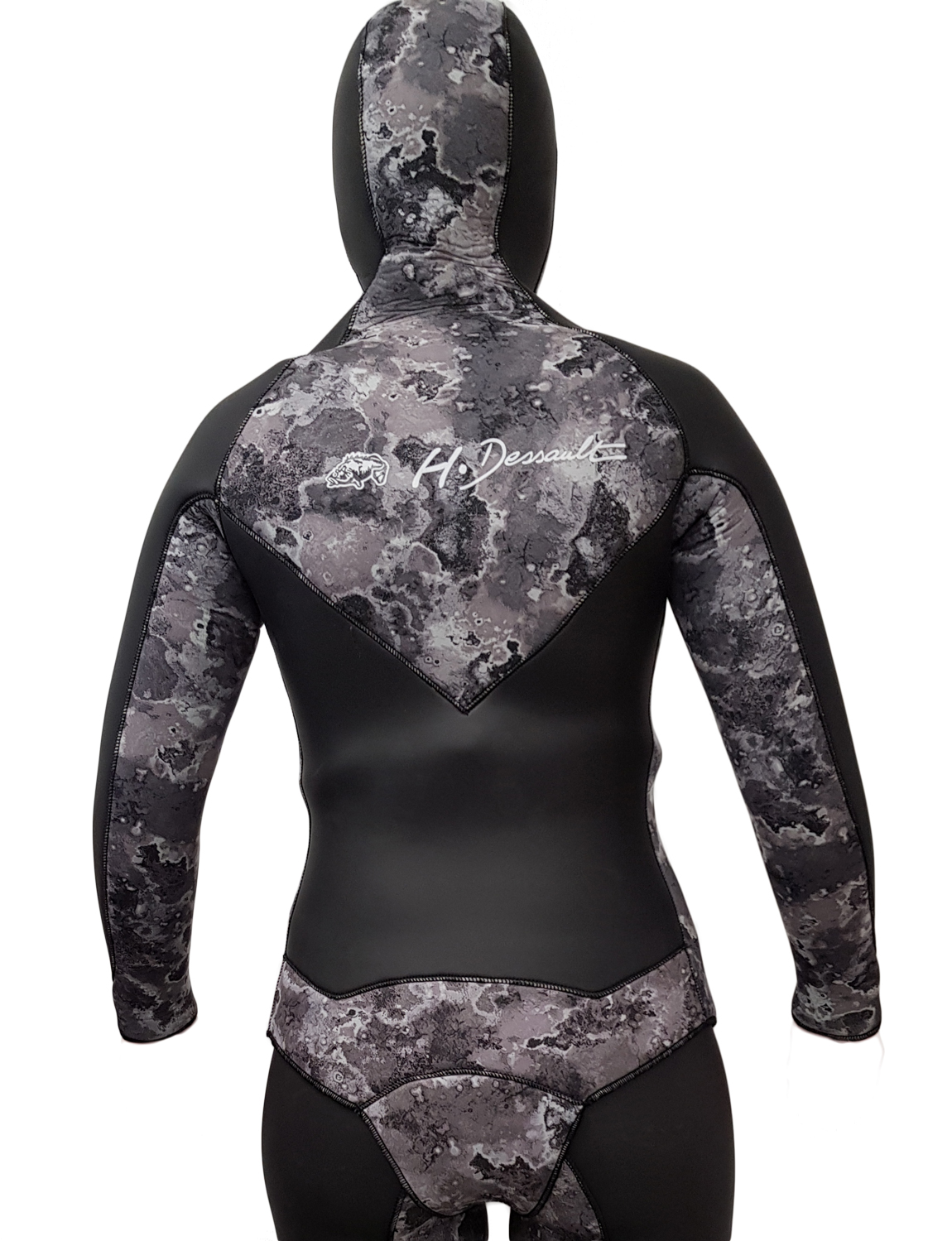 H Dessault UV DRAGT JACKET FEMALE DUO CAMO 7,5MM